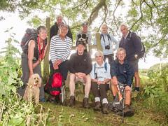 Cemaes Head Walk-20170722-0480.jpg (llaisymor) Tags: walker wales cemaeshead walk group coast pembrokeshire coastpath