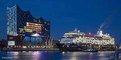 Mein Schiff 6 - 010617102 (Klaus Kehrls) Tags: hamburg hamburgerhafen elbphilharmonie mein schiff 6 schiffe elbe flüsse blaue stunde nachtaufnahmen