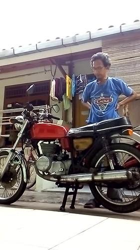 FORSALE: Suzuki GT185 1975 twin 2stroke letter B jakbar on Tangerang