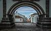 ribeira grande 5a (Bilderschreiber) Tags: ribeira grande sao miguel azores saomiguel ribeiragrande portugal europe gate tor through durch municipality rathaus