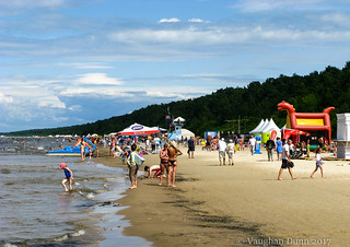 Jurmala Beach Scene