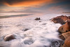 Go With The Flow || PORT STEPHENS || NSW (rhyspope) Tags: australia aussie nsw new south wales canon 5d mkii sunrise sunset port stephens sea ocean waves water marine coast coastal nature flow splash rhys pope rhyspope beach sky color colour fog mist