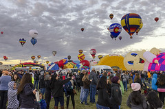 Albuquerque Balloon Fiesta 18 (rschnaible) Tags: albuquerque balloon fiesta festival hot air outdoor color colorful flight vehicle transportation sport new mexico southwest western west