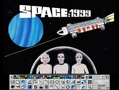Space1999 - Play with brilliance 2 (Xirill) Tags: amiga brilliance 1200 space 1999 cosmos bergman russell koenig