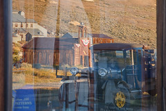 1927 Dodge in the Window (Jeffrey Sullivan) Tags: bodie state historic park night photography workshop eastern sierra bridgeport california usa nature landscape canon photo jeff sullivan 5dmarkiii copyright 2012 august 9 2013 window reflection