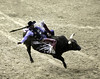 0246937445-95-Cowboy Bull Riding at the 2017 National Finals Rodeo-7 (Jim There's things half in shadow and in light) Tags: 2017 america american lasvegas nfr nationalfinals nevada rodeo southwest thomasandmack usa unitedstates action animal cowboy december sports western bullriding bucking roughstock