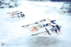 LEGO Star Wars Snowspeeder (David Otten Fotografie) Tags: 50mm 50mm18d d610 holland lego nederland netherlands nikkor nikon nikond610 nikontop snow speedlight winter xmas christmas davidottenfotografie dof fun hoth sb700 starwars toys helmond noordbrabant