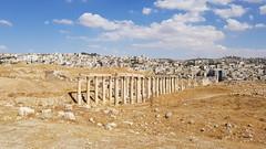 JORDANIA (Grace R.C.) Tags: antigüedad ruinas ruins jordania jerash columna paisaje landscape