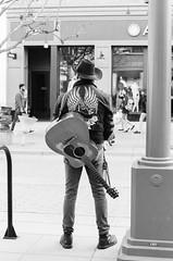 When The Man Comes Around... (HikerDude24) Tags: 400tx nikonn80 nikon film analog filmisnotdead 50mm 35mmfilm n80 f80 kodak santamonica trix trix400 monochrome streetphotography street