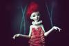 Fairy Puppet (Minuit ☆) Tags: unoa alchemic labo doll chateau dollchateau dolls poupée poupées bjd balljointeddoll ball jointed fairy enchanted surreal photoshop msd kid 14 size makeup clown koreandoll korean white skin hybrid hybridation photography photomanipulation photographie lusis