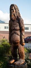 DSC_8071 (Copy) (pandjt) Tags: hope hopebc britishcolumbia sasquatchharry sasquatch bigfoot carving carvings chainsawcarving sculpture publicart artwalk hopeartwalk woodcarving artwork