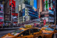 New York Yellow Taxis (Kev Walker ¦ 7 Million Views..Thank You) Tags: architecture brooklyn building canon1855mm centralpark chryslerbuilding citycentre clouds empirestatebuilding grandcentralterminal hdr hudsonriver manhattan nypd newyork newyorkcity oneworldtradecenter panorama panoramic postprocessing skyscrapers statueofliberty timessquare usa wallstreet yellowtaxicab