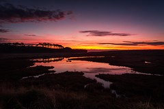 Budleigh Salterton sunrise (713ms) Tags: blue