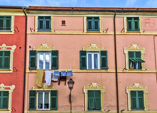 Ligurian dwellings