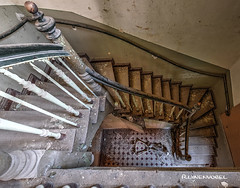 Stairs (Ruinenvogel) Tags: stairs indecay abandoned lost treppen skeleton skulls dark darkart hdr