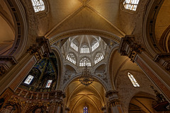 Valencia Cathedral (T.Seifer) Tags: light cathedral valencia europe indoors travel tourism architecture building cityscape fx photography reisefotografie weitwinkel church raum decke