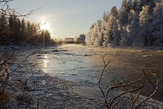 Meltausjoki - Meltaus river
