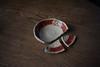 Around my house 2. (Yasuyuki Oomagari) Tags: table broken dish washing iroe pottery japan nikon d810 zeiss distagont1435 日本 陶器 赤絵 黒岩卓実