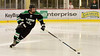 Puck-moving defenseman (R.A. Killmer) Tags: sru ice hockey acha green white black altenate fast puck stick defense slippery rock university