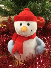 2017 (Day 339 - 5th Dec): Stay-Frost the snowman
