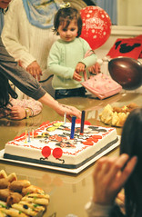 Birthday Party (Tuqaki) Tags: birthday happybirthday newyear birthdaygirl happygirl cake birthdaycake mickymouse minymouse balloon balloons color colors lifecolors happy happiness party friends friend family home kid kids nikon mynikon d90