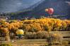 crew gathering a balloonist (maryannenelson) Tags: colorado durango fall balloonrally hotairballoons autumn landscape sky