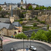 View from the city ramparts - Luxembourg