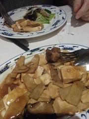 tofu and bamboo root (Lina (Prema) Polmonari) Tags: cibo food home casalingo pane bred pain bro veg verdure obst gemuse frutta verdura fruit