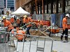 CBD & South East Light Rail - George Street - Update 20 November 2017 (4) (john cowper) Tags: cselr georgestreet queenvictoriabuilding tracks paving thoroughfare alignment transportfornsw cityofsydney plaza construction conversion sydneylightrail sydney newsouthwales