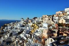 Oia .Santorini (Ljatko) Tags: oia santorni europe travel sky paysage sun light sonyilce sony greece horizont colors view