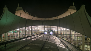 Denver Airport by the Night