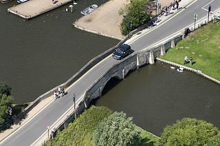 Potter Heigham Old Road Bridge aerial pic