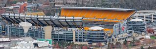 Heinz Field Stadium in Pittsburgh, Pennsylvania (Panoramic)