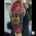 Flowers Tattoo (Color) done @ Pitbull Tattoo Thailand