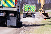 @20171121--D9 Maint-579 (OhioDOT) Tags: 9 district odot backhoe concrete culvert limestone pipe truck water workers