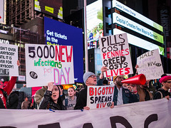 4N3A5364 (WorkingFamiliesParty) Tags: actupnewyork act up newyork ny protest hiv aids timessquare action community decriminalize international problem people united