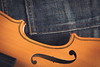 My old violin (Ramón Antiñolo) Tags: denim music musician violin wooden vintage blue jeans harmony fashion classical instrument string wood symphony old classic melody fiddle concerto retro textile clothing fabric cotton pocket indigo canvas grunge bluejeans urban youth flat lay overhead view top
