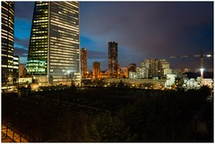 blue hour (Johannes Pe) Tags: paris la defense nanterre leica m9 summicronm 35 iv voigtlaender skopar 25 france