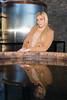 Fermenting Reflections (jeff_a_goldberg) Tags: fermenter lexington distillery townbranchdistillery alltechlexingtonbrewingdistillingco whiskey model bourbon alltech kentucky kentuckybourbontrail abbiepurdie unitedstates us magmod magnetmod