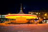 The Magic Carousel (anton_frolov) Tags: building sky silhouettes light lights dynamic dynamics russia tomsk siberia entertainment longexposure longexposures night evening park carousel pegtop sony a6000 sonya6000 yellow colorful trail trails street city urban motion