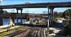 U Hauled Over The Coals.  Explored.  28-11-2017. (-Metal-M1KE-) Tags: bnsf burlingtonnorthernsantafe up unionpacific railroad kansascitymissouri coal coalloads uhaul