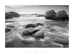 """Huddled"" - Porth Nanven, Cornwall (Joe Rainbow) Tags: beach joerainbow landscape lee nanven atlantic coast coastal cornwall ocean sand sea water wave waves winter"