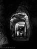 Orvieto Underground (frillicca) Tags: 2017 agosto august bn bw biancoenero blackandwhite galleria gallery monochrome monocromo orvietotr orvietosotterranea orvietounderground panasoniclumixlx100 pressa sotterraneo tufo tunnel underground
