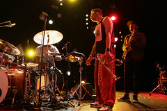 Christian Scott @ Les Nuits Botanique 2016 (Rick & Bart) Tags: christianscottmei2016 lesnuitsbotanique live concert brussel bruxelles jazz funk music christianscottatundeadjuh christianscott trumpet canon eos70d rickvink rickbart coreyfonville drums