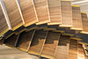 Wynyard Sculpture (iansand) Tags: wynyard escalator sydney sculpture wood treads