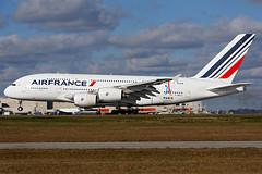 F-HPJJ - Airbus A380-861 - Air France - KATL - Dec 2017 (peachair) Tags: fhpjj airbus a380861 air france katl dec 2017 cn 117 first visit atl hartsfield widebody landing