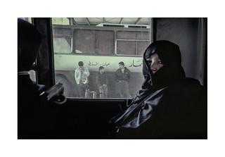 Bus travel.  ( Amman ) 1993