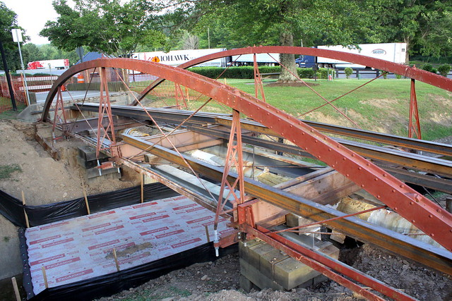 Oldest Metal Bridge in Virginia (Under Construction)