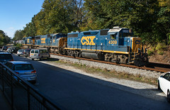 4-Axle in a 6-Axle World (weshendrix) Tags: csx abbeville subdivision atlanta division athens georgia ga train railfan railroad railfanning freight manifest rr tracks emd gp392 standard cab diesel engine locomotive vehicle outdoor autumn