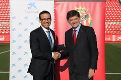 Nàstic i CaixaBank renoven l'acord de patrocini per vuitena temporada consecutiva